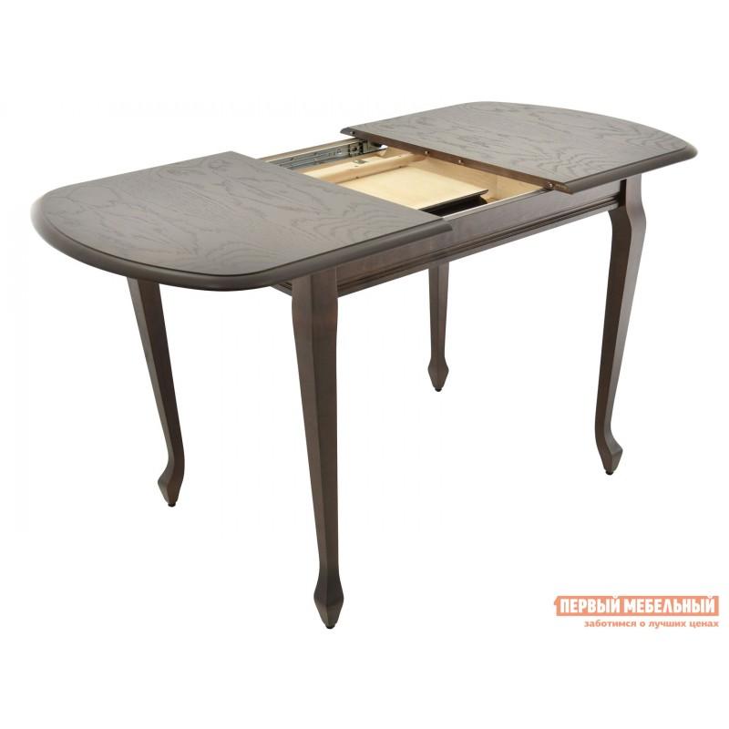 Кухонный стол  Стол раздвижной Прага Темный орех, Большой (фото 2)