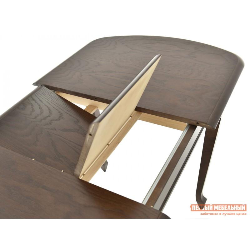Кухонный стол  Стол раздвижной Прага Темный орех, Большой (фото 4)