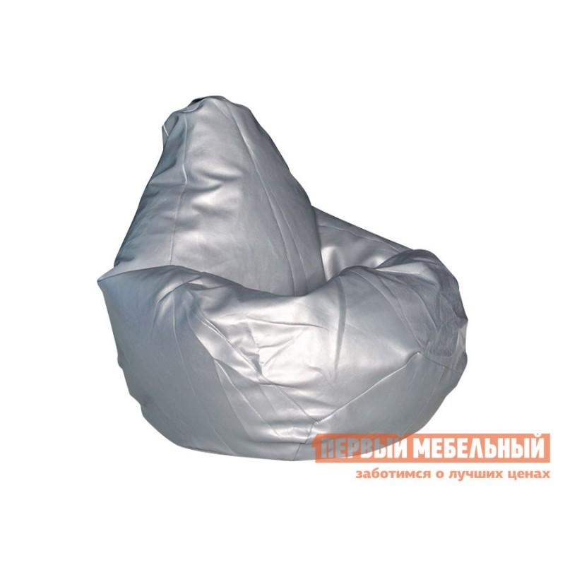 Кресло-мешок  Кресло-мешок Ашли Металлик экокожа, 3XL