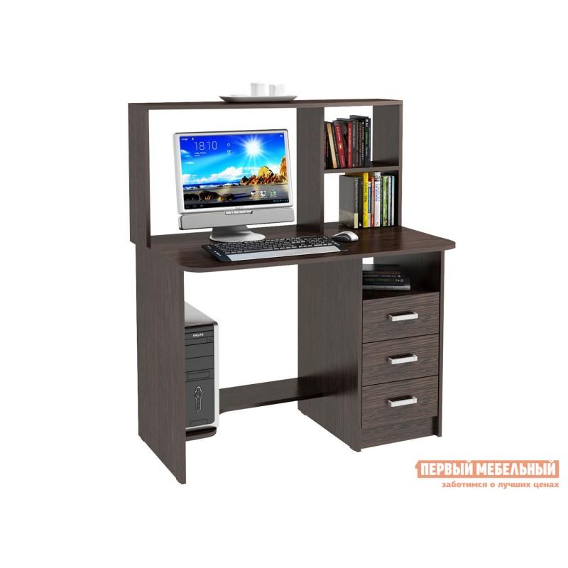 Компьютерный стол  Стол компьютерный Неман Венге