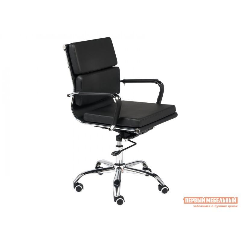 Офисное кресло  Офисное кресло BESTO-LOW Черный, искусственная кожа