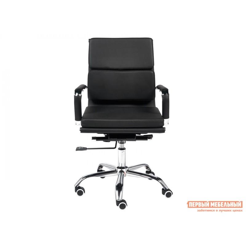 Офисное кресло  Офисное кресло BESTO-LOW Черный, искусственная кожа (фото 2)