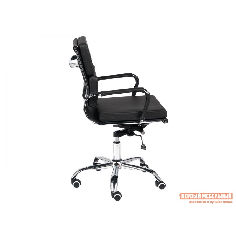 Офисное кресло  Офисное кресло BESTO-LOW Черный, искусственная кожа (фото 3)