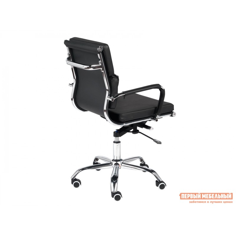 Офисное кресло  Офисное кресло BESTO-LOW Черный, искусственная кожа (фото 4)