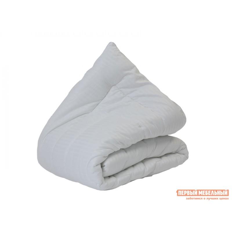 Одеяло  Одеяло сатин/бамбуковое волокно 300 гр/м2 всесезонное Белый, 1400 х 2050 мм