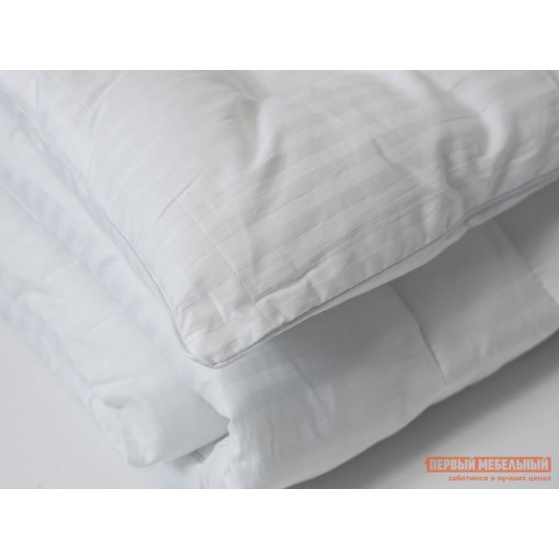 Одеяло  Одеяло сатин/бамбуковое волокно 300 гр/м2 всесезонное Белый, 1400 х 2050 мм (фото 2)