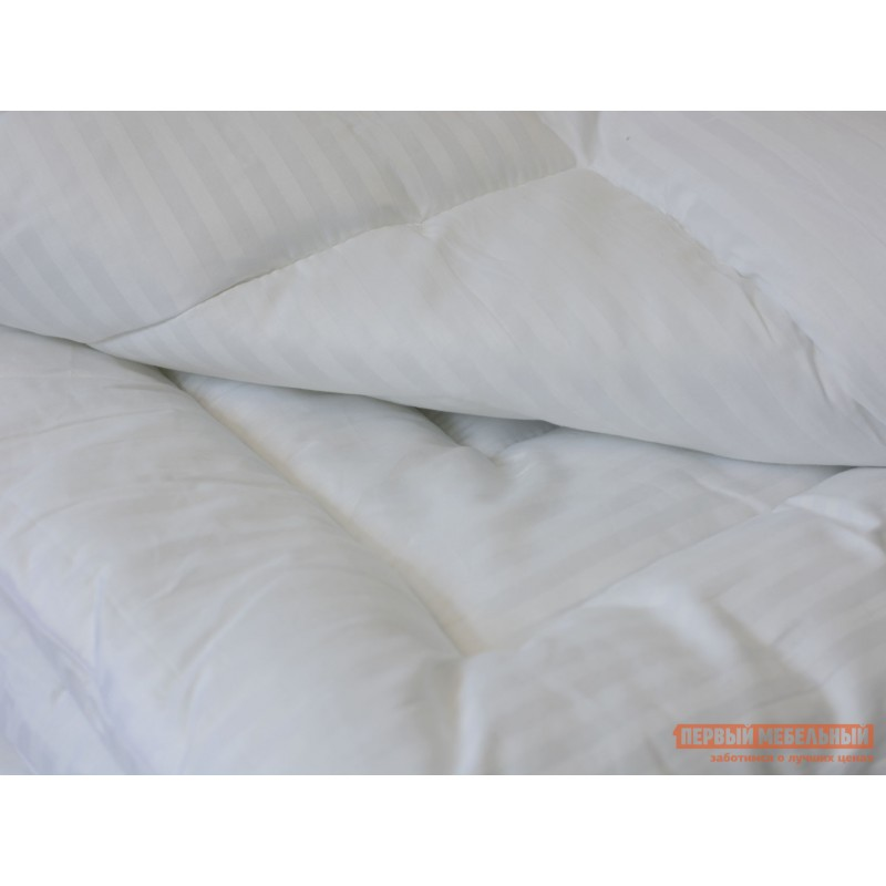 Одеяло  Одеяло сатин/бамбуковое волокно 300 гр/м2 всесезонное Белый, 1400 х 2050 мм (фото 3)