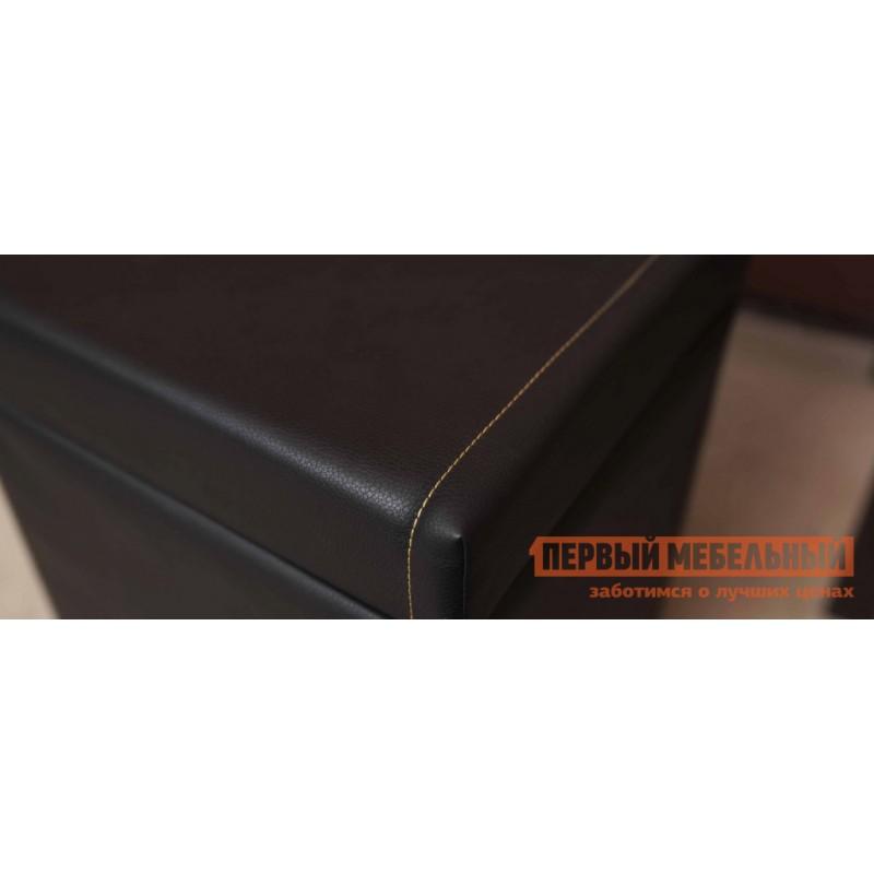 Банкетка  Nature 44 (спальня) Банкетка  Дуб табачный craft / Черный (фото 3)