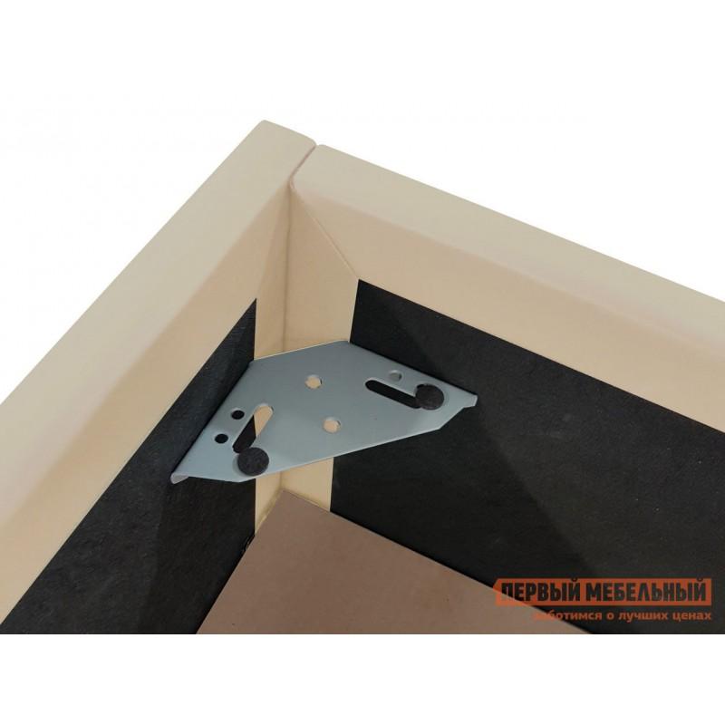 Двуспальная кровать  Кровать с подъемным механизмом Офелия Слоновая кость, экокожа, 1600 Х 2000 мм (фото 6)