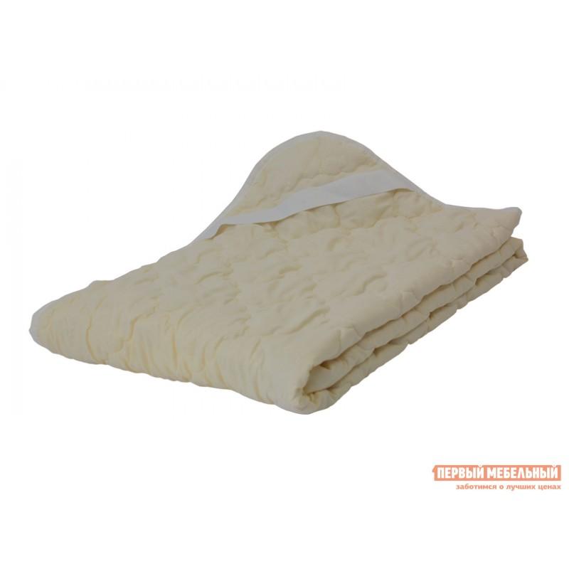 Чехол для матраса  Наматрасник овечья шерсть микрофибра Молочный, 800 Х 2000 мм