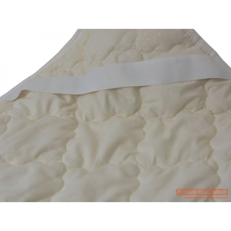 Чехол для матраса  Наматрасник овечья шерсть микрофибра Молочный, 800 Х 2000 мм (фото 3)