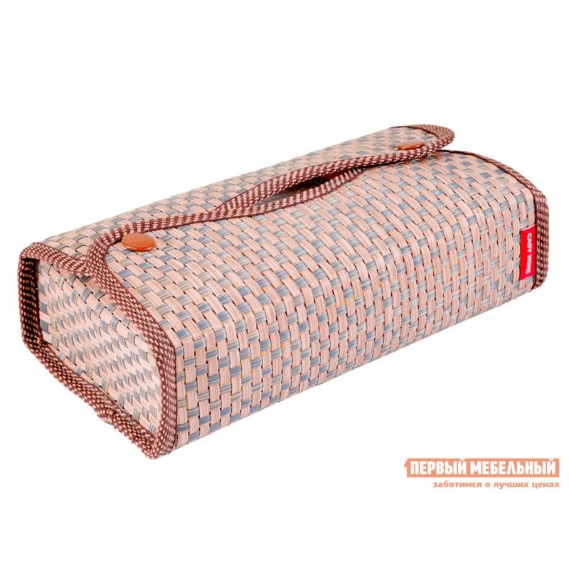 Аксессуары для сервировки и хранения  Салфетница 24х12х6см Коричневый, текстилен