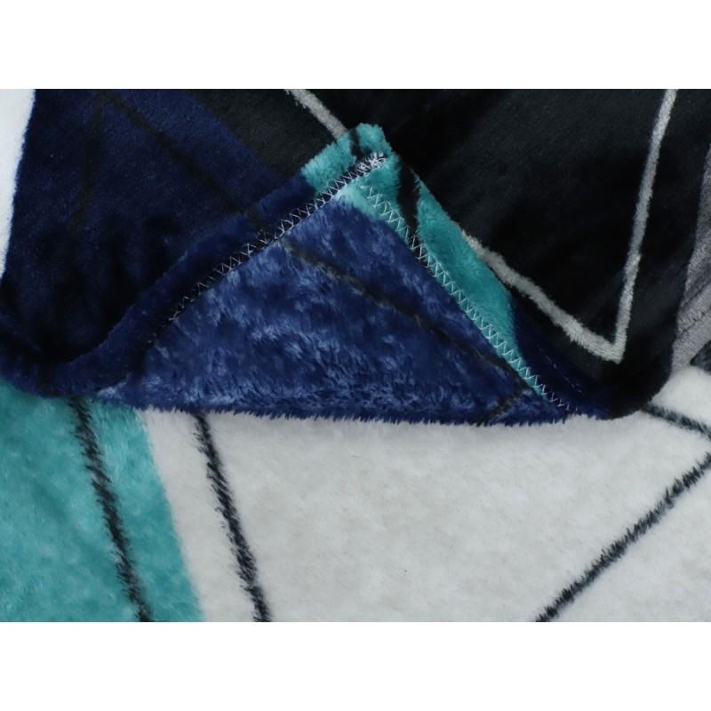 Покрывало  Треугольники 150 х 200 см, 26221 / 26233, разноцветный (фото 3)
