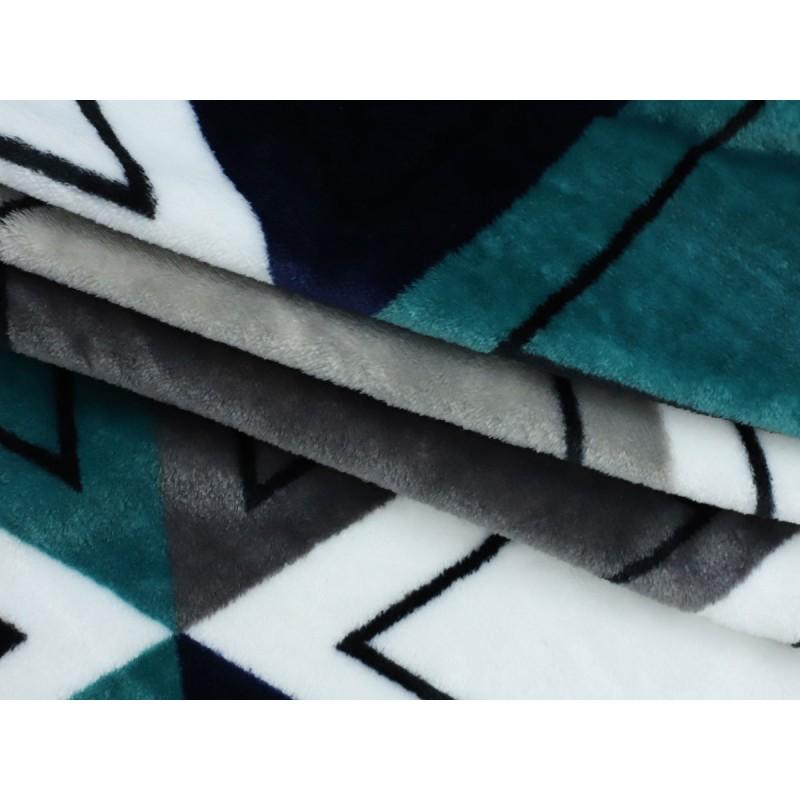 Покрывало  Треугольники 150 х 200 см, 26221 / 26233, разноцветный (фото 4)