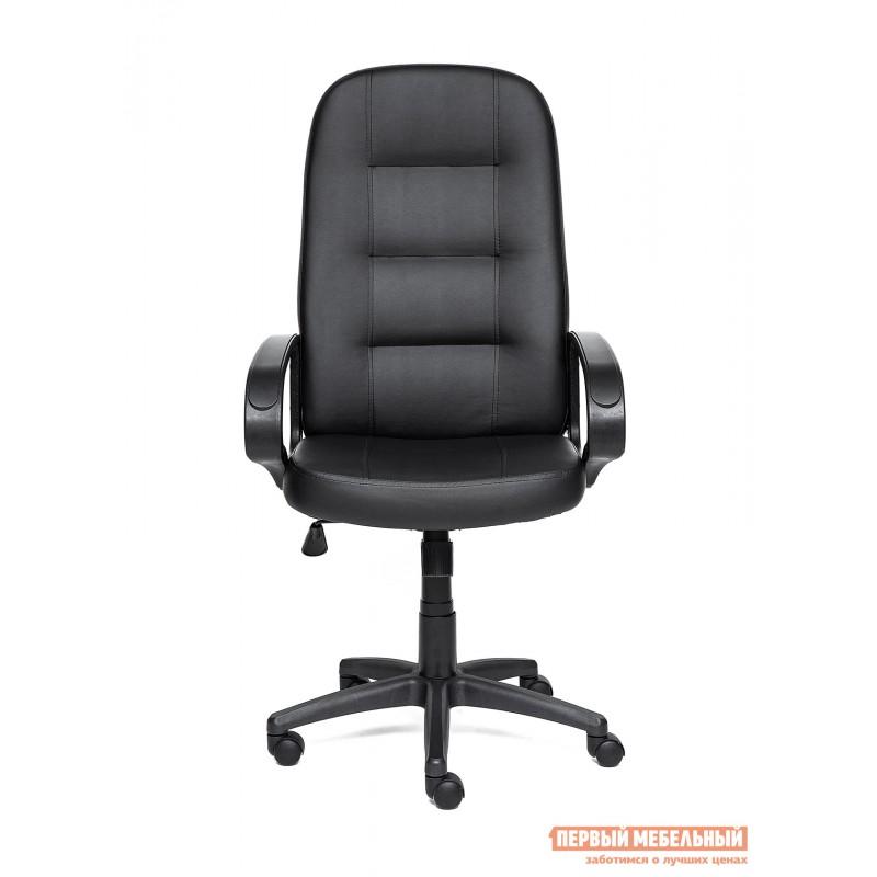 Кресло руководителя  Devon Иск. кожа черная PU C36-6 (фото 2)