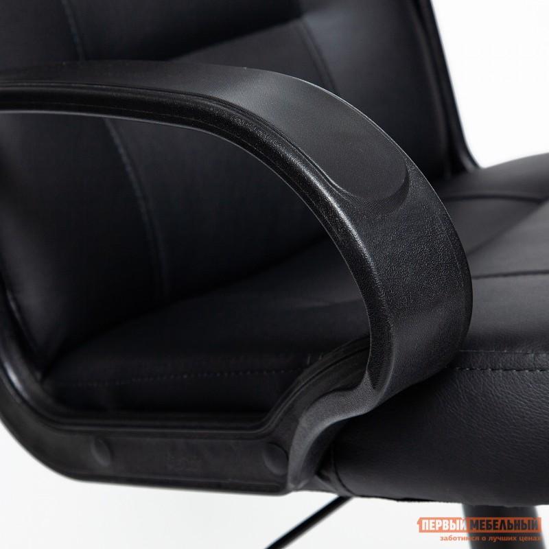 Кресло руководителя  Devon Иск. кожа черная PU C36-6 (фото 6)