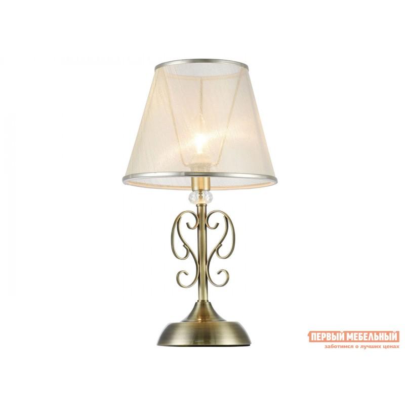 Настольная лампа  Настольная лампа Дриана FR2405-TL-01-BS Бронза антик / Бежевый