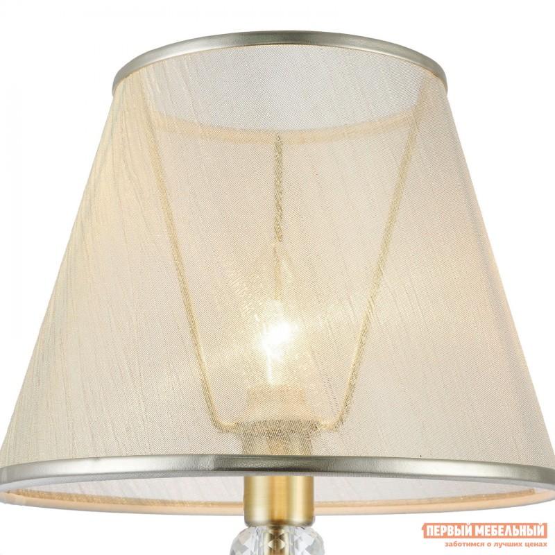 Настольная лампа  Настольная лампа Дриана FR2405-TL-01-BS Бронза антик / Бежевый (фото 2)