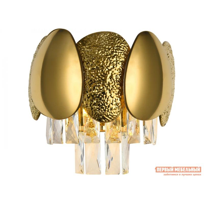 Бра  CHIC 2 x G9, 28W 81437/1W Золото, металл / Хрусталь