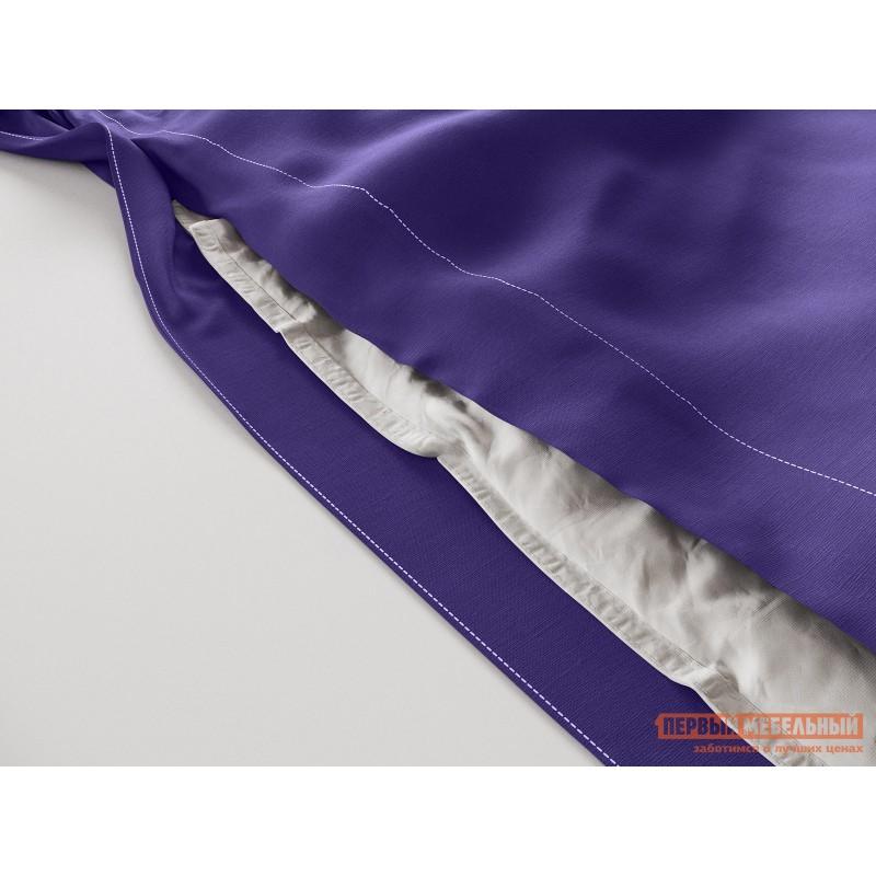 Комплект постельного белья  КПБ сатин однотонный (фиолетовый ОСНОВА СНОВ) Фиолетовый, сатин, Двуспальный (фото 3)
