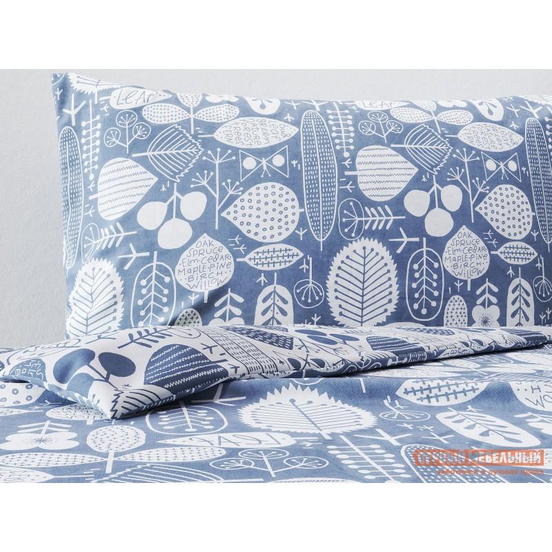 Комплект постельного белья  КПБ поплин Основа Снов сканди серый Сканди серый, поплин, Полутороспальный