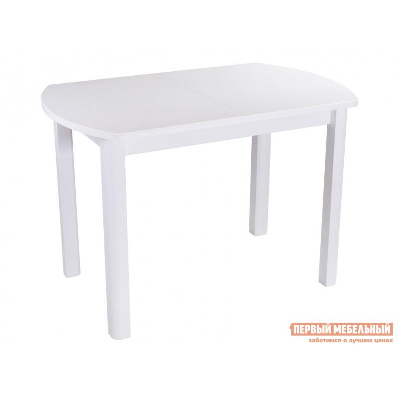 Кухонный стол  Обеденный стол Румба ПО КМ Белый 04 / Белый БЛ, Средний