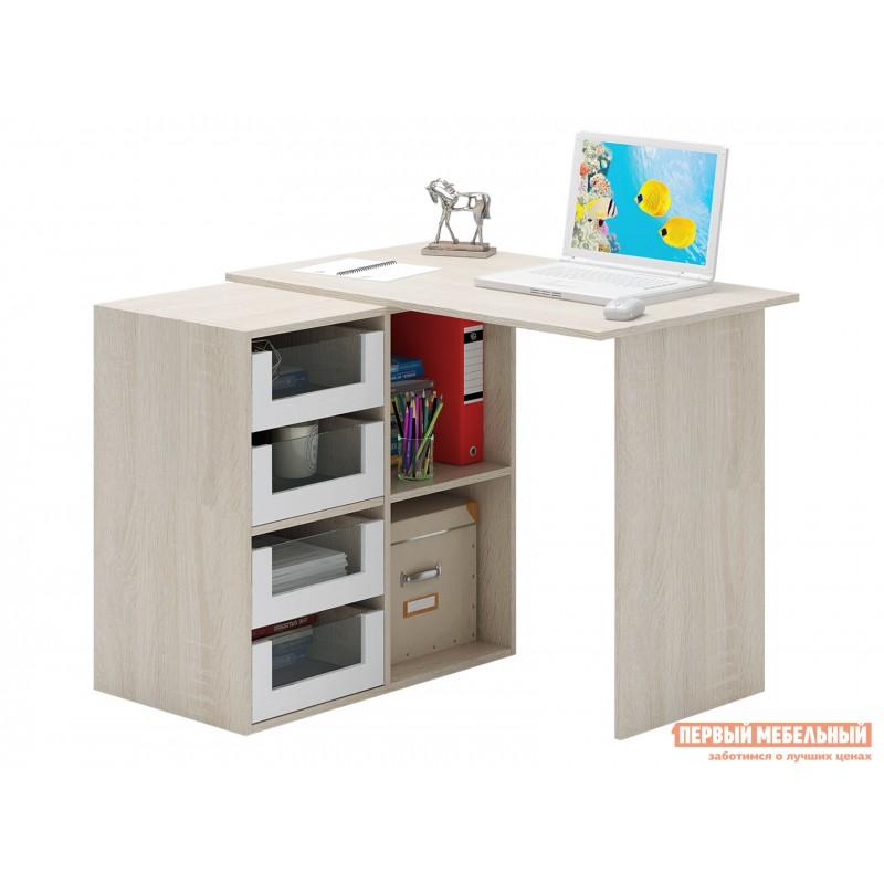 Письменный стол  Прайм-38 Дуб Сонома / Белый (фото 3)