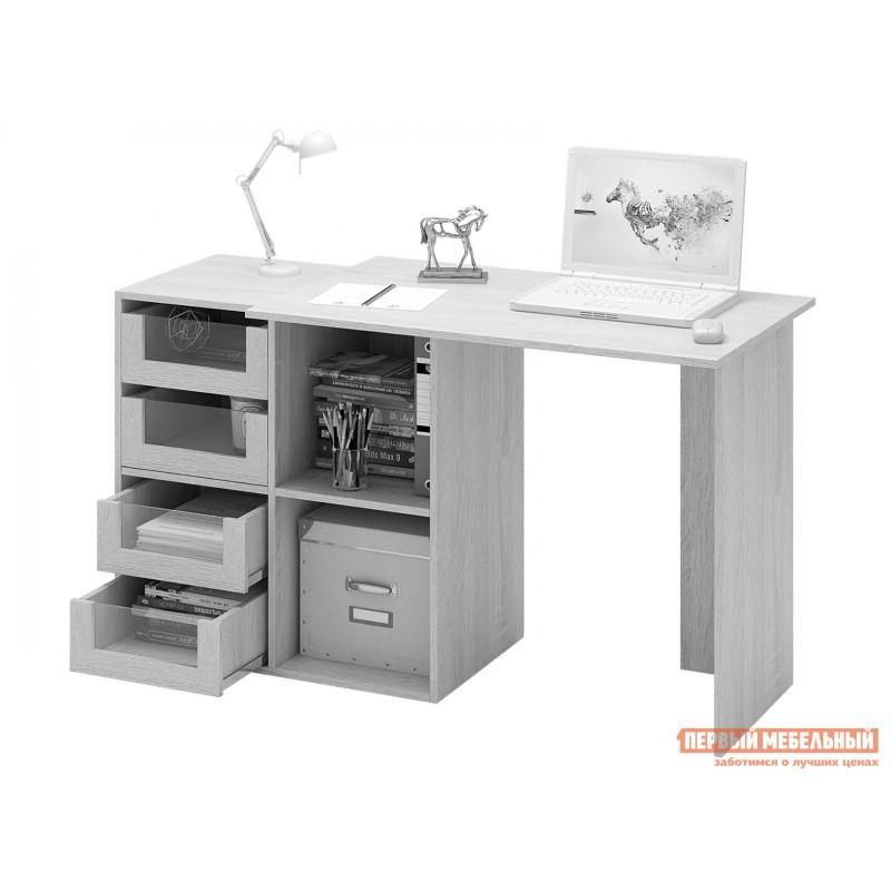 Письменный стол  Прайм-38 Дуб Сонома / Белый (фото 5)