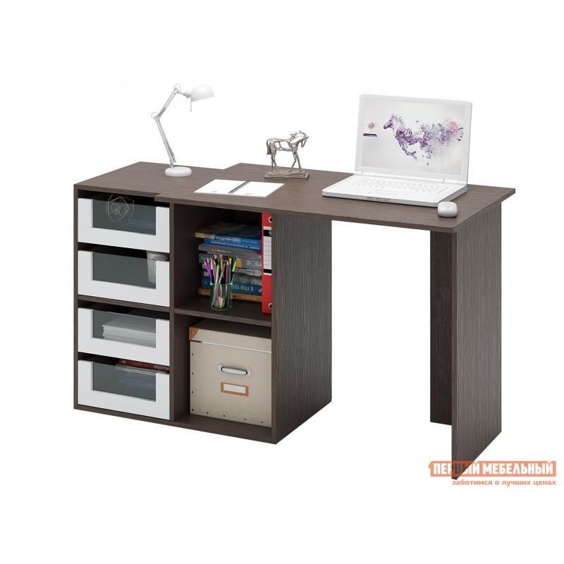 Письменный стол  Прайм-38 Венге / Белый (фото 2)