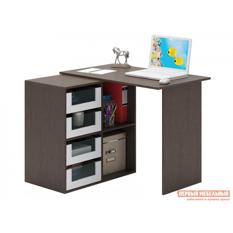 Письменный стол  Прайм-38 Венге / Белый (фото 3)