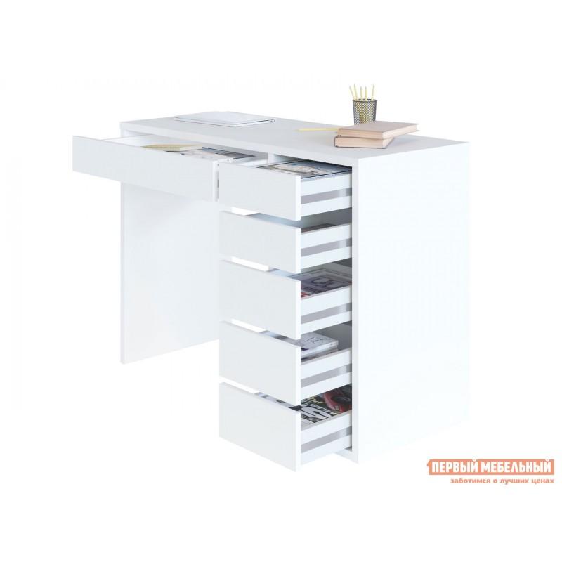 Письменный стол  СПм-10 Белый, Правый (фото 2)