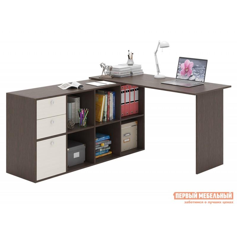 Письменный стол  Прайм-74 Венге / Дуб молочный (фото 2)