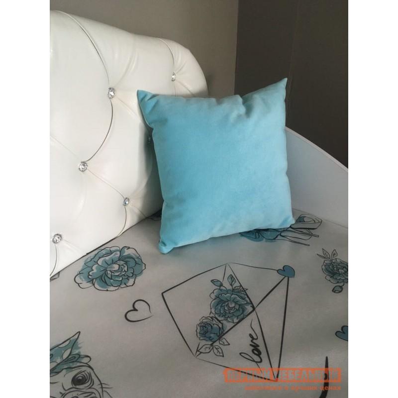 Детская кровать  Гламур Кровать Белый / Белый глянец, Без бортика (фото 5)