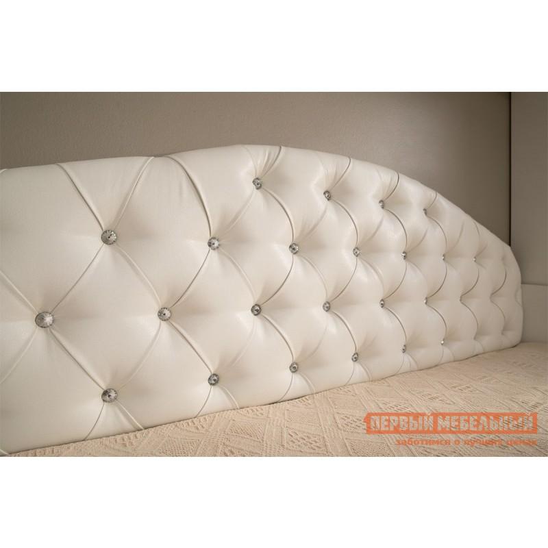 Детская кровать  Гламур Кровать Белый / Белый глянец, Без бортика (фото 7)