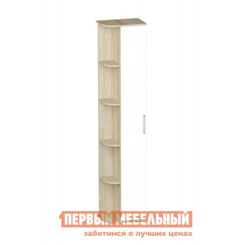 Шкаф детский  Шкаф однодверный Сенди Дуб сонома / Белый