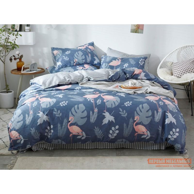 Комплект постельного белья  КПБ Сатин-С56 С56, сатин, Полутороспальный
