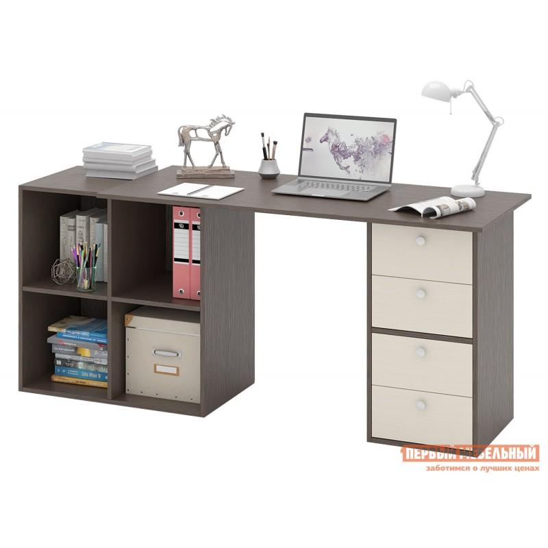 Письменный стол  Прайм-78 Венге / Дуб молочный (фото 2)