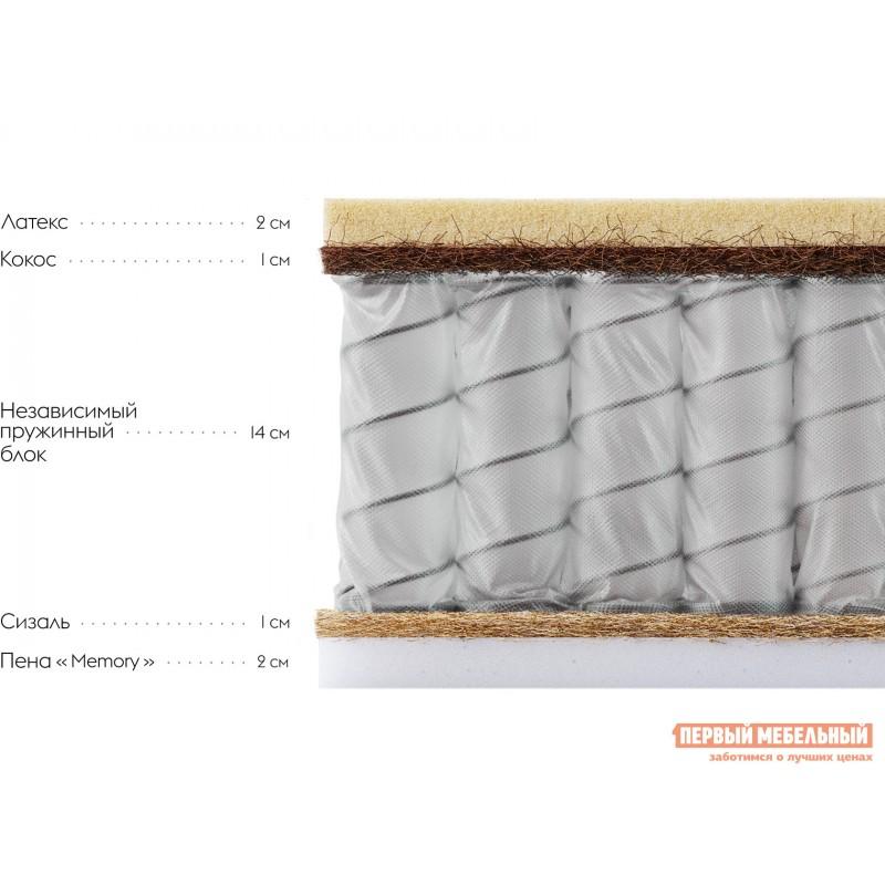 Пружинный матрас  Клермон S 24 Memory 160х200 см, Белый (фото 2)