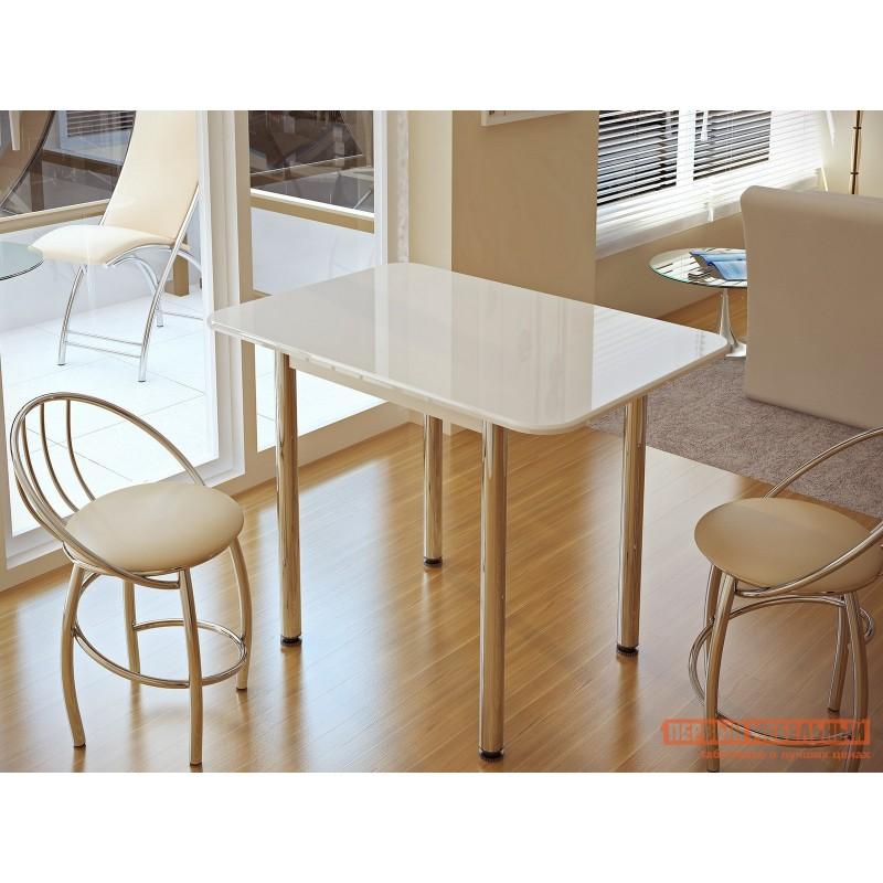 Кухонный стол  Стол обеденный Премьера Белый (фото 2)