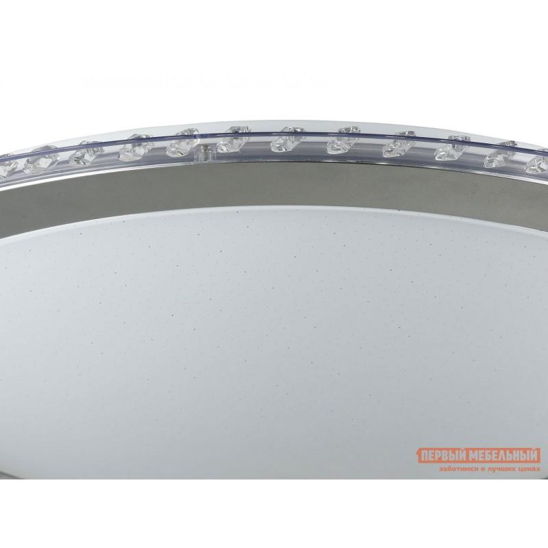 Люстра  Потолочный светильник Глори FR6441-CL-60-W Белый / Хром (фото 2)