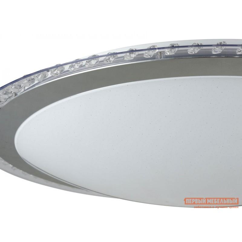 Люстра  Потолочный светильник Глори FR6441-CL-60-W Белый / Хром (фото 3)