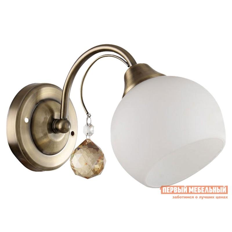 Бра  Бра MD.11419-1-W AB 1*60Вт E27 Античная бронза / Белый