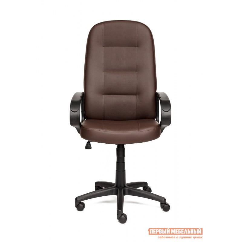 Кресло руководителя  Devon Иск.кожа коричневая перфор. (36-36/36-36/06) (фото 2)
