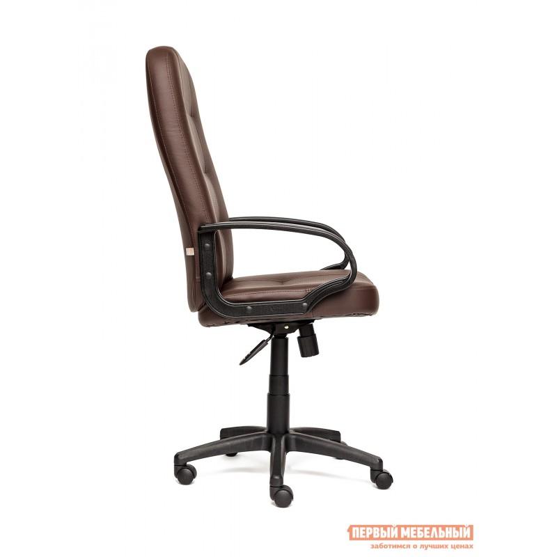 Кресло руководителя  Devon Иск.кожа коричневая перфор. (36-36/36-36/06) (фото 3)