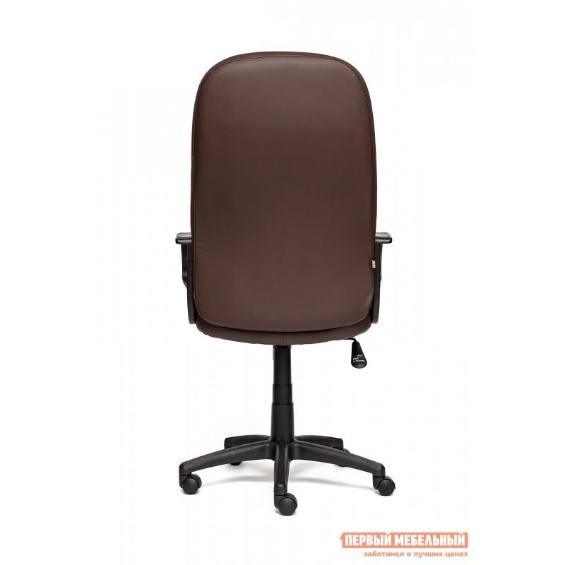 Кресло руководителя  Devon Иск.кожа коричневая перфор. (36-36/36-36/06) (фото 4)