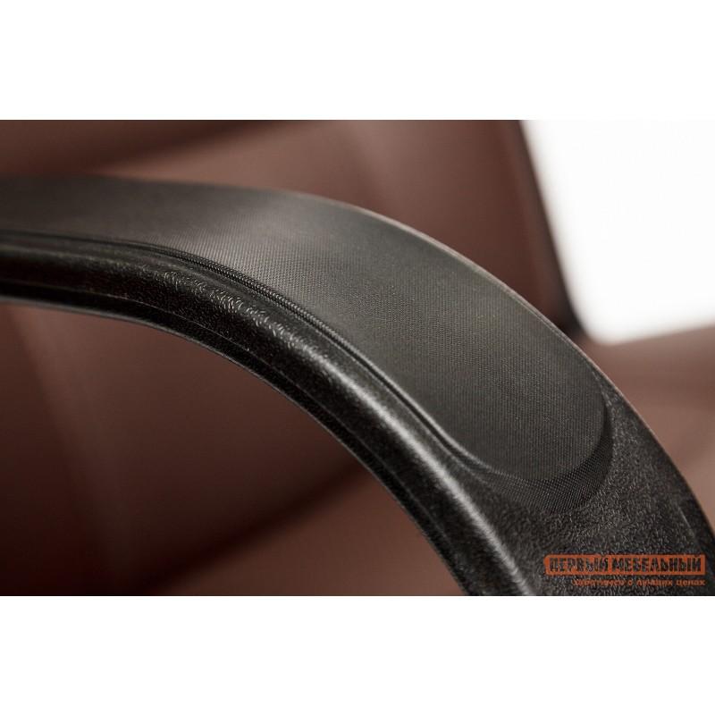 Кресло руководителя  Devon Иск.кожа коричневая перфор. (36-36/36-36/06) (фото 6)