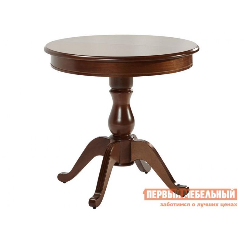 Кухонный стол  Стол Фабрицио 1 (82 * 82 / 112) Орех темный