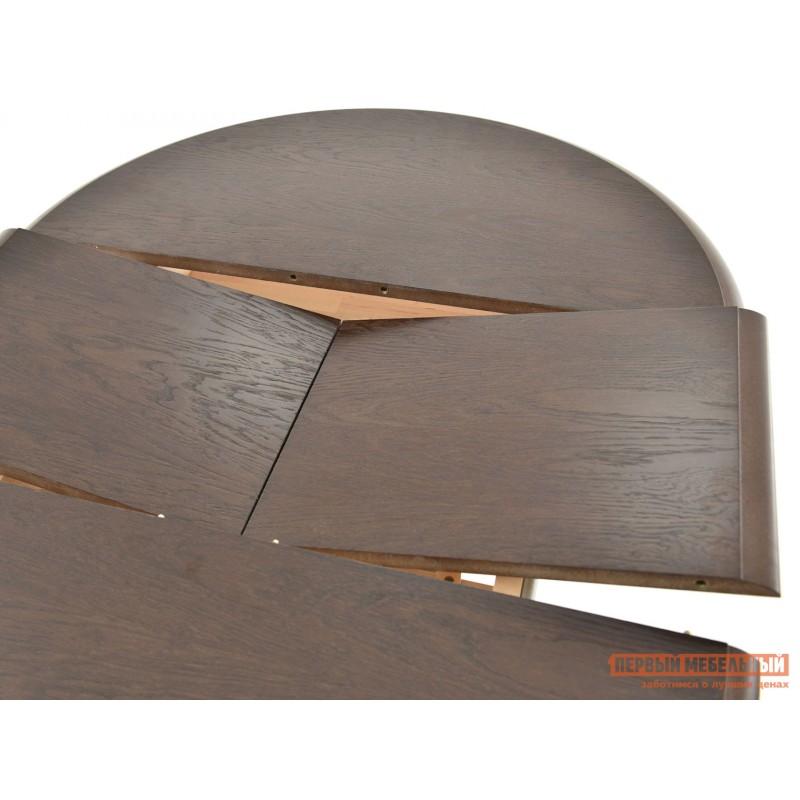 Кухонный стол  Стол Фабрицио 1 (82 * 82 / 112) Орех темный (фото 2)