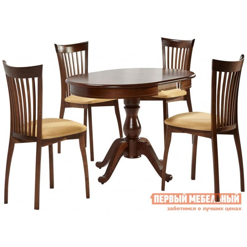 Кухонный стол  Стол Фабрицио 1 (82 * 82 / 112) Орех темный (фото 4)