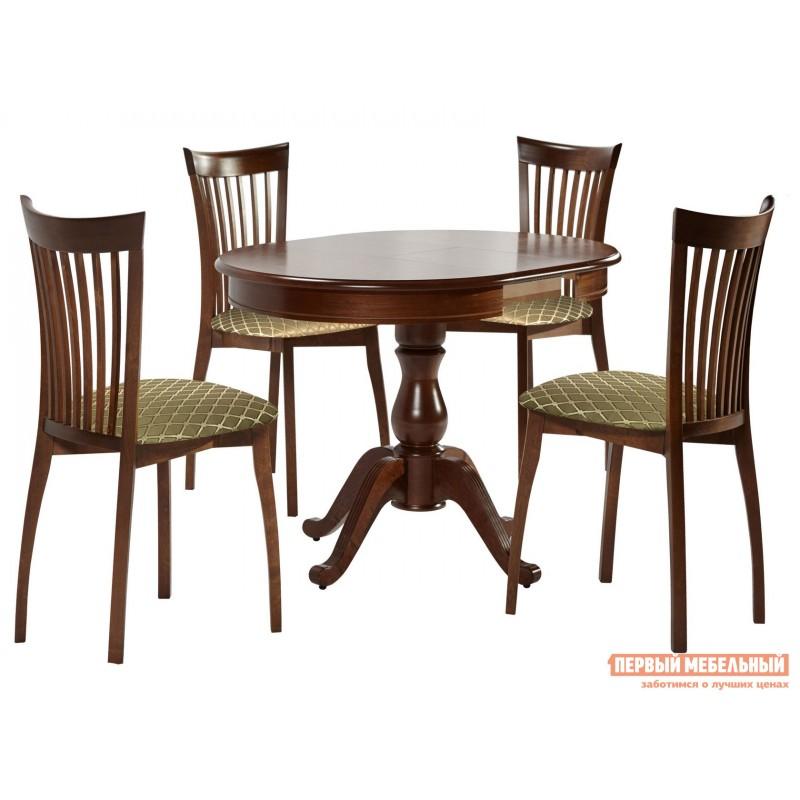 Кухонный стол  Стол Фабрицио 1 (82 * 82 / 112) Орех темный (фото 7)